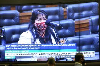 Relatora diz que as medidas de saúde farão parte de um plano emergencial (Foto: Maryanna Oliveira/Câmara dos Deputados)