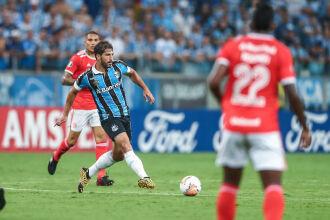 O único clássico pela Libertadores foi disputado em março – Foto Lucas Uebel-GFBPA