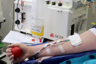 Doação na Hemoterapia do HSVP - Foto - Scheila Zang-HSVP