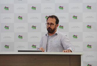Vereador Alex Necker do PCdoB (Imagem: Arquivo)