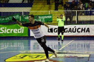 Radaeli teve uma passagem de destaque pelo time (Foto: Divulgação)