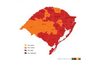 Nenhuma região apresentou melhora (Imagem: Divulgação)
