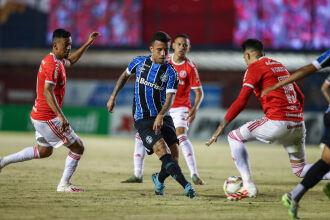 No último clássico: Grêmio 1 x 0 no Centenário - Foto - Lucas Uebel-GFBPA