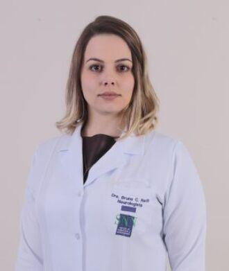 A neurologista Bruna Constantino Rech atua no Hospital de Clínicas de Passo Fundo