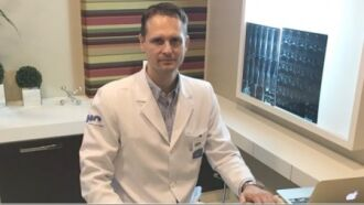 Rodrigo Tisot é médico ortopedista do corpo clínico do HC - Foto-Divulgação