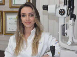 Dra. Gabrielle Senter é oftalmologista Fotos - Luciano Anderson Breitkreitz – ON