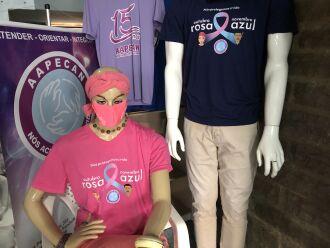Camisetas estão sendo vendidas na Unidade pelo valor de R$25 (Foto: Ascom/Aapecan)