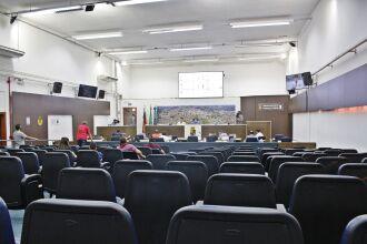 Reunião desta segunda-feira discutiu também outros assuntos (Foto: Comunicação/CMPF)