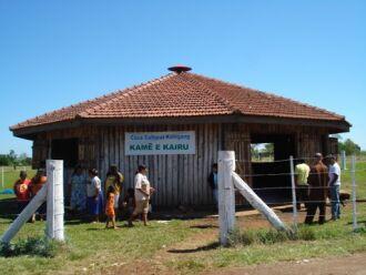Segundo a Funai, indígenas das etnias Charrua e Kaingang vivem em 27 territórios na região. (Foto: Divulgação/Funai)