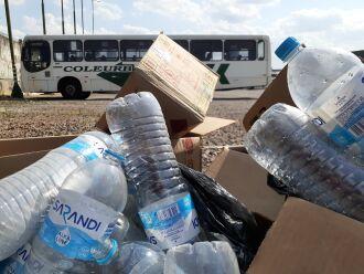 Materiais recicláveis serão arrecadados entre os colaboradores (Foto: Daniele Teixeira/Colerub) 
