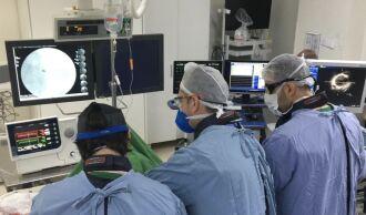 A utilização do dispositivo é temporária, oferecendo suporte ao pacienteem condições de falência cardíaca (Foto: Divulgação/HC)