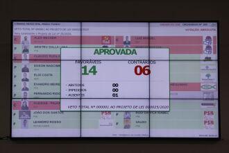 Deliberação aconteceu na tarde de quarta-feira (Foto: Comunicação / CMPF)