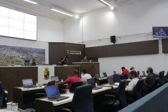 Sessão Plenária Ordinária aconteceu na tarde de segunda-feira (Foto: Comunicação/CMPF)