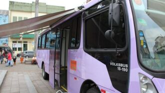 Ônibus estará disponibilizando atendimento e material informativo sobre violência de gênero e divulgação dos serviços oferecidos pelo Estado (Foto: Divulgação)