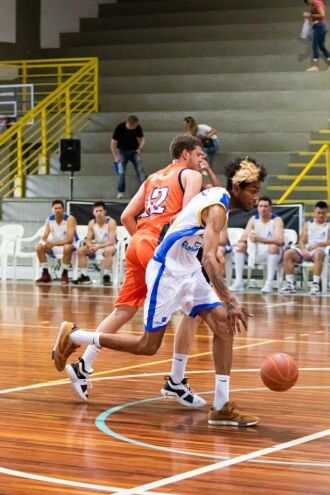 Comercial no Final Four em Caxias do Sul -- Foto – Ricardo Marchetti/Sojão Basquete
