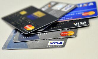 O cartão de crédito é a principal modalidade de endividamento para 77,8% das famílias. (Marcello Casal Jr./Agência Brasil)