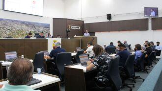 Sessão Plenária foi realizada hoje (07) (Foto: Comunicação / CMPF)