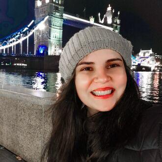 Mariana se mudou para Londres para poder cursar o mestrado no país a partir de 2022 (Foto: Arquivo Pessoal)