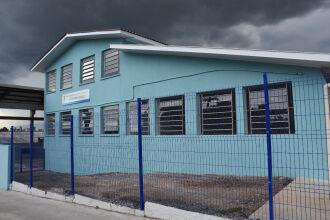 Escola fica no bairro Lucas Araújo