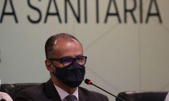 Diretor-presidente da Agência Nacional de Vigilância Sanitária (Anvisa), Antonio Barra Torres (Fábio Rodrigues Pozzebon/Agência Brasil)