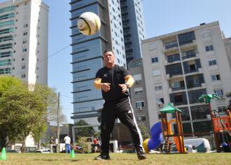 Professor Marco Aurélio é referência em preparação física - Foto – Gerson Lopes-ON