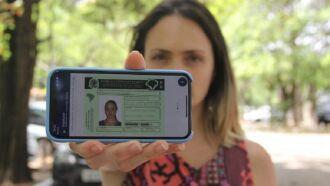 Condutores que optaram por utilizar CNH no formato digital representam cerca de 20% do total (Foto: DetranRS)