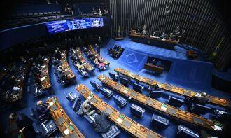A sessão foi aberta por volta das 15h (Foto: Marcos Oliveira/Agência Senado)