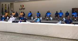 Apresentação marca o início da nova temporada - Matheus Moraes-UPF