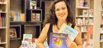 A escritora e contadora de histórias Luciana Marinho é uma das atrações no primeiro dia de evento
