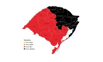 11 regiões do estado estão em bandeira preta (Imagem: Divulgação)