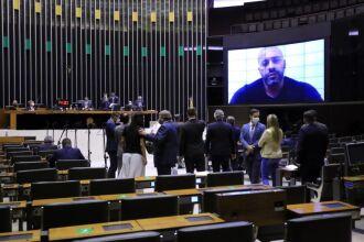 O deputado gravou e divulgou vídeo em que faz críticas aos ministros do Supremo (Foto: Michel Jesus/Câmara dos Deputados)