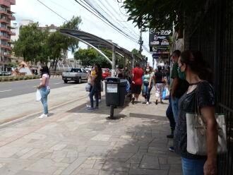 A cidade está, no momento, em bandeira vermelha, mas pode aplicar protocolos de bandeira laranja (Foto: Bruna Scheifler/Arquivo ON)