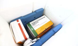 O governo paulista estima entregar 5,6 milhões de doses ao PNI até 05 de março (Foto: Marcelo Camargo/Agência Brasil)