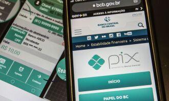 A partir de 1º de abril, os clientes poderão gerenciar os limites do Pix no próprio aplicativo da instituição financeira. (Foto: Marcello Casal Jr./Agência Brasil)
