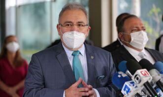 Futuro ministro participou de entrega das vacinas AstraZeneca no Rio