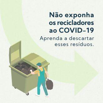 Campanha alerta para o descarte correto de materiais de secreção (Fotos: Divulgação)