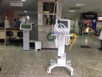 Os equipamentos foram enviados pelo Ministério da Saúde ao Hospital Municipal (Foto: Divulgação/PMPF)