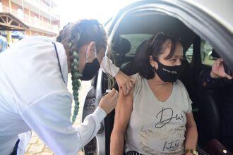 O município recebeu 2.580 doses para esse público (Foto: Divulgação/PMPF)