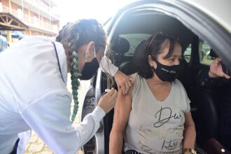 Passo Fundo já começou a vacinar a população com mais de 72 anos (Foto: Divulgação/PMPF)