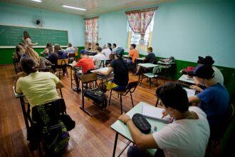 Mais de 700 mil estudantes já estão matriculados (Foto: Gustavo Gargioni/Palácio Piratini)