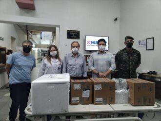 Entrega foi realizada por uma equipe do Exército