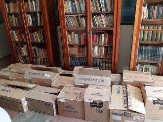 A mudança para o novo espaço já está sendo realizada. O Arquivo Histórico Regional da UPF funcionará no Campus I, da UPF, junto ao Instituto de Filosofia e Ciências Humanas (IFCH), prédio B4 (Fotos: Divulgação/ Gizele Zanotto)