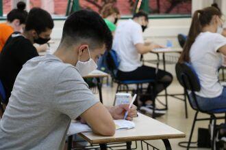Candidatos do curso de Medicina irão realizar a prova presencial (Foto: Divulgação/UPF)