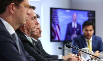 Bolsonaro mudou o tom sobre o tema e destacou necessidade de recursos financeiros (Foto: Divulgação)
