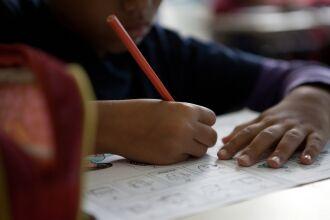 As aulas estão autorizadas para educação infantil e 1º e 2º ano do Ensino Fundamental (Foto: Camila Domingues/Palácio Piratini)