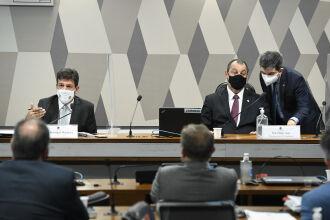 A CPI é presidida pelo senador Omar Aziz (PSD-AM) e o senador Randolfe Rodrigues (Rede-AP) participa como vice-presidente (Foto: Jefferson Rudy/Agência Senado)