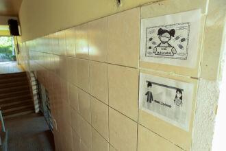 As escolas devem adotar os protocolos sanitários (Foto: Gustavo Mansur/Palácio Piratini)