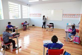 As aulas podem ter apenas 25% dos alunos (Foto: Diogo Zanatta/PMPF)