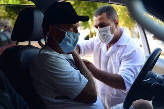 As novas doses recebidas acabaram rapidamente (Foto: Divulgação/Arquivo/PMPF)