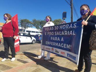 A concentração foi realizada no Cais Petrópolis (Foto: Gerson Lopes/ON)